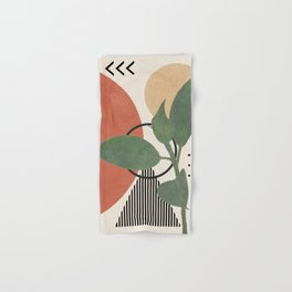 Nature Geometry III Hand & Bath Towel