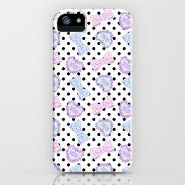 Pretty Baby Brand Whore Allover Pastel Spank Pop Kei iPhone Case