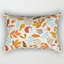 Autumn Woods Rectangular Pillow