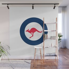 Australia country roundel Wall Mural