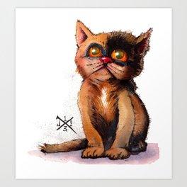 Gimme' Kitty Art Print