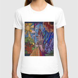 Castle Stained Glass T-shirt