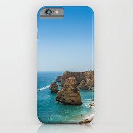 Beach at Lagoa, Algarve, Portugal iPhone Case