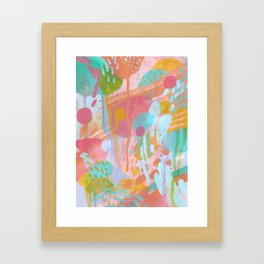 Kinoko No Niwa Framed Art Print
