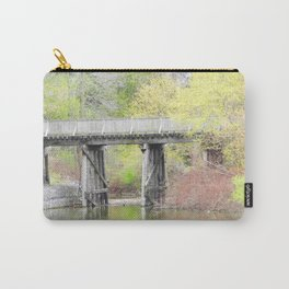 Soft Colours of Spring Reflected Carry-All Pouch
