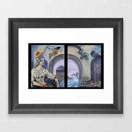 Hasah Framed Art Print