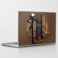 hallion Laptop & iPad Skins featuring What's This? What's This? by Karen Hallion Illustrations