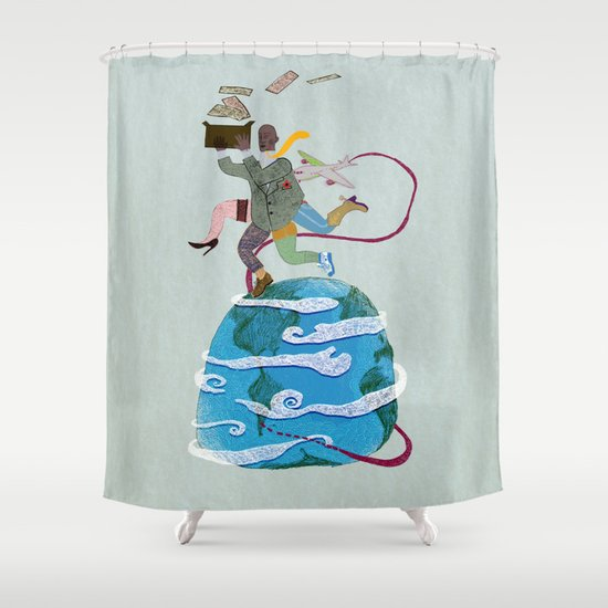 Fuga - Escape Shower Curtain