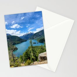 Cascade Mountains Stationery Cards