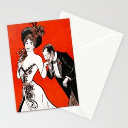 More practical Affiche (Mere praktisk) Stationery Cards