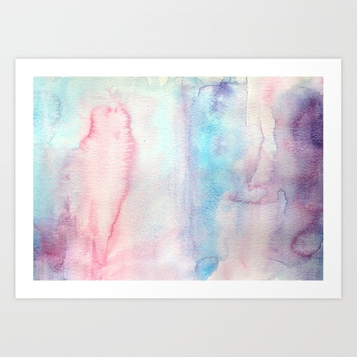 Tenderness vibes Art Print