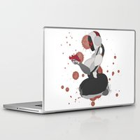 robot Laptop & iPad Skins featuring Robot by Aeternial