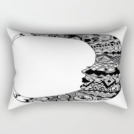 Fly me to the moon and back  Rectangular Pillow