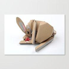 Unlucky Rabbits Foot Canvas Print