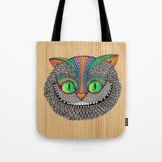 Alice´s Cat Wood Tote Bag