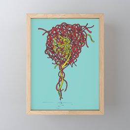 Mind Knot Framed Mini Art Print