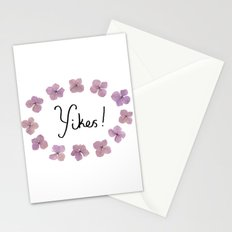 Yikes! Stationery Cards