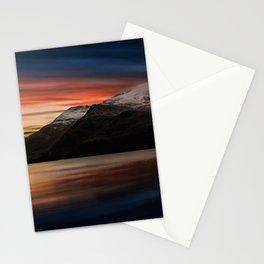 Lake Sunset Snowdonia Stationery Cards