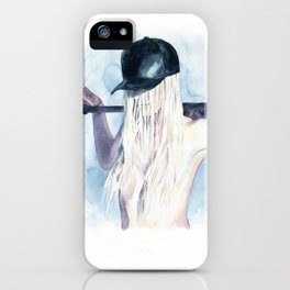 Knock-down iPhone Case