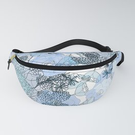 Blue is your color Fanny Pack