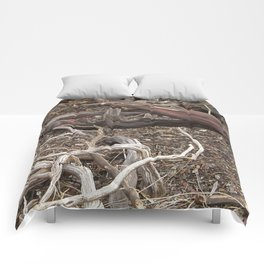TEXTURES - Manzanita in Drought Conditions #3 Comforters