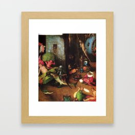The Last Judgement - Hieronymus Bosch Framed Art Print