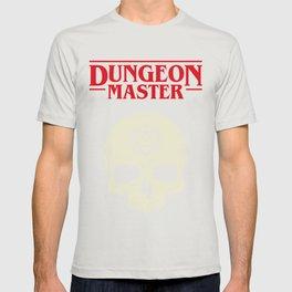 Hardcore Dungeon Master Skull DnD T-shirt
