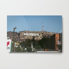 Cliche Hollywood Photo Metal Print