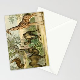 Giraffe and Friends Stationery Cards