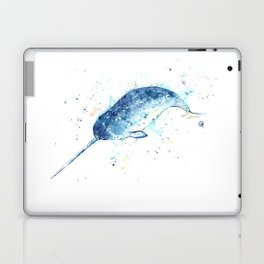 Narwhal - Unicorn of the Sea Laptop & iPad Skin
