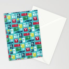 Gifts - Xmas Pattern Stationery Cards