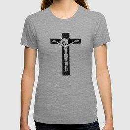 Jesus Christ at the Cross illustratio T-shirt
