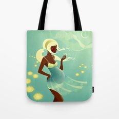 Herbal Remedies: Dandelion Tote Bag