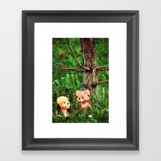 Red and Toby Framed Art Print