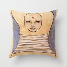 Secrets of Osiris I Throw Pillow