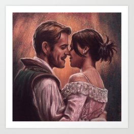 It's Like A Story Of Love Art Print