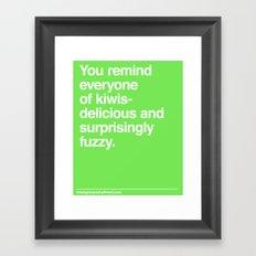 Kiwis Framed Art Print