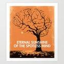 Eternal Sunshine Of The Spotless Mind - Movie Poster by joelamatguell