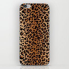 leopard pattern iPhone Skin