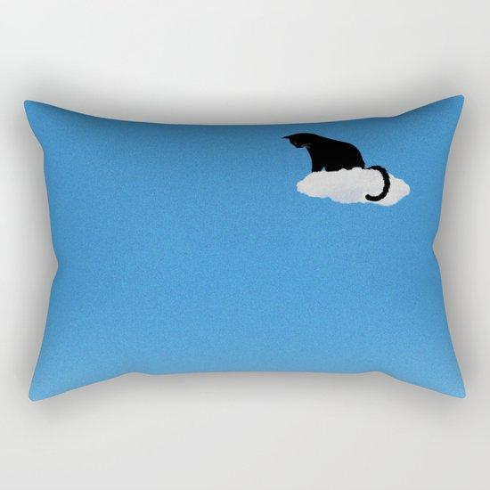 Cat Cloud Rectangular Pillow