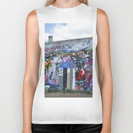 The Berlin Wall Biker Tank