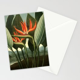 Birds of Paradise : Temple of Flora Stationery Cards