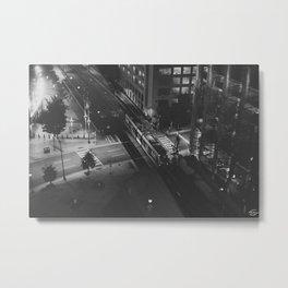 LightRail  Metal Print