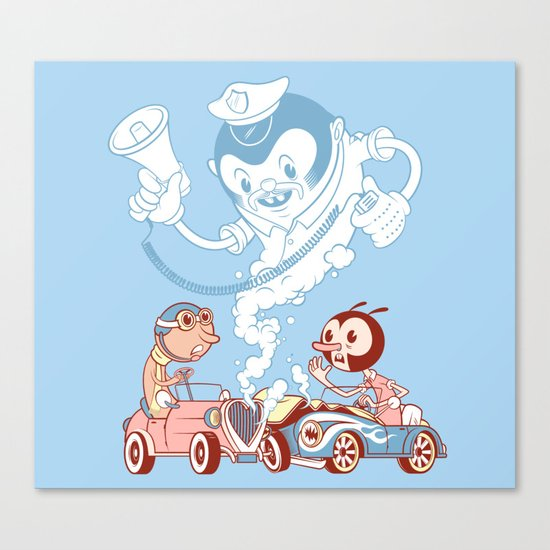 CrashBoomBang Canvas Print