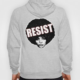 Angela Davis - Resist (black version) Hoody