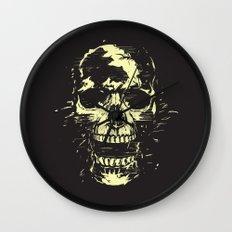 Scream (gold) Wall Clock