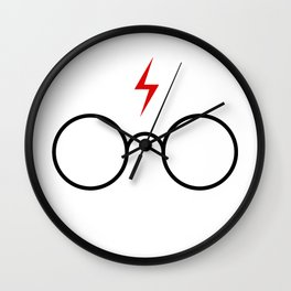 harry poter glasses Wall Clock