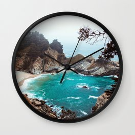 Julia Pfeiffer Burns State Park Wall Clock