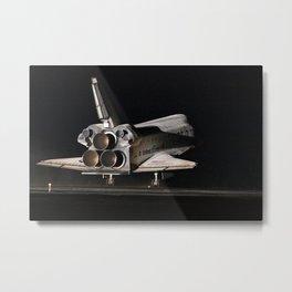 759. STS-130 Endeavour Lands at KSC Metal Print