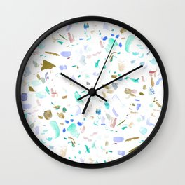 Scatter Brain No. 3 Wall Clock